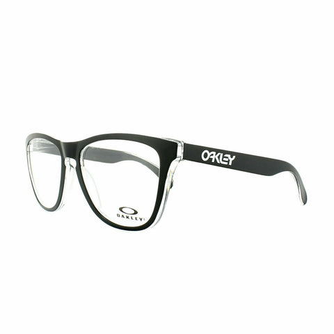 Oakley Glasses Frames Frogskins OX8131-0454 Eclipse Black & Clear