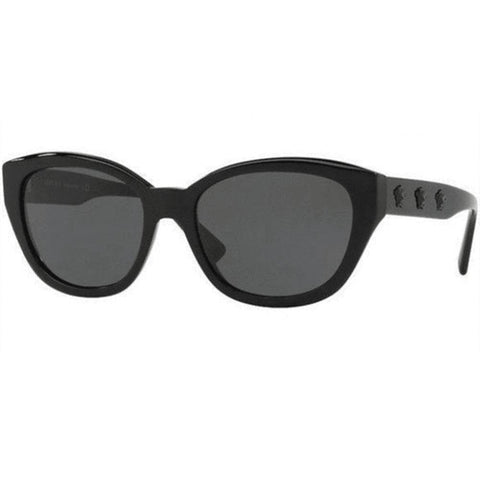 31806ebdf082 Versace Sunglasses Cat Eye Style Grey Gradient Lens