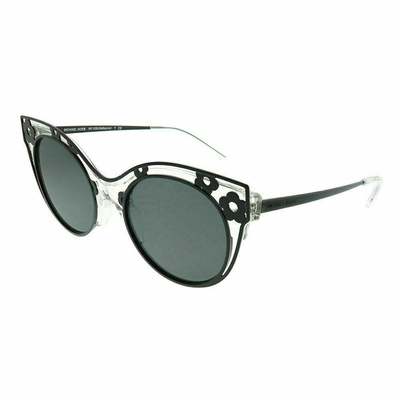 Michael Kors Sunglass - MK1038 305087 Melbourne Cat Eye Style Crystal Clear Color Sunglass