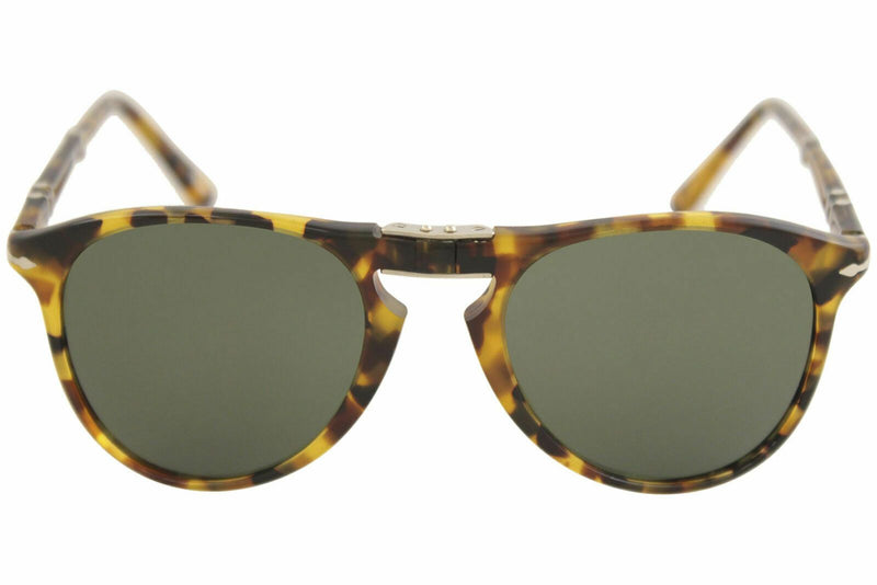 Persol Men's PO9714S PO/9714/S 1052/31 Madreterra Folding Pilot Sunglasses 52mm