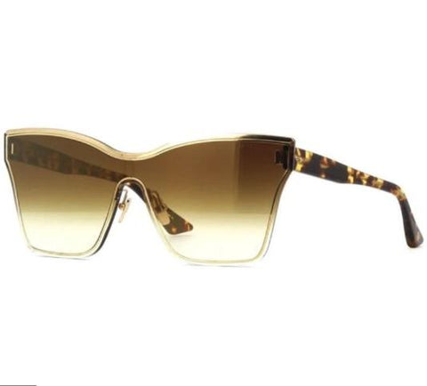 Dita Eyeglass Silica Shield Style Gold /Tortoise Color | DTS508-145-01