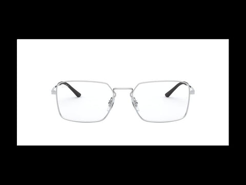 Ray-Ban RB6440 53 2501 Silver Sight Glasses Eyewear Gafas Silver
