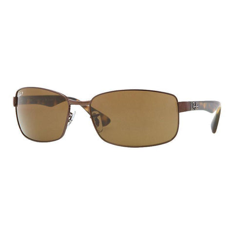 Ray Ban RB3478 014/57 60MM Havana Brown Frame Brown Polarized Lens Sunglasses