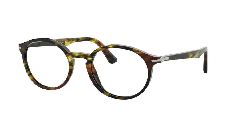Persol Eyeglass - PO3211-V 24 50 Oval Style - Havana With Demo Lens