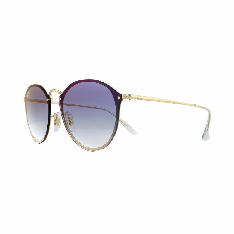 Ray Ban Sunglasses Blaze Round RB3574N 001/X0 Gold Blue Gradient