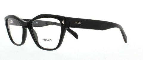 PRADA Glasses Frames VPR 27S 1AB-1O1 Black 51mm RRP-£200
