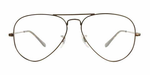 Ray-Ban Eyeglasses Frames RX6489 2531 58MM Light Brown
