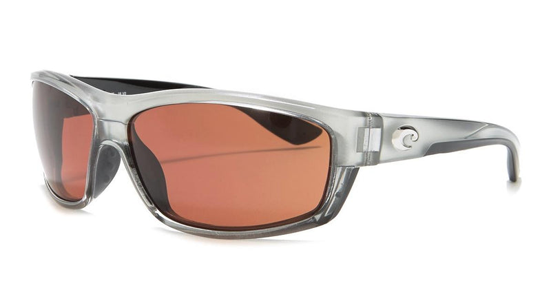 New Costa Del Mar sunglasses Saltbreak Silver Frame Copper 580P BK18 OCP $159