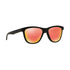 Oakley Sunglass Square Style Ruby Iridium Lens - Men's Sunglass Matte Black Frame OO9320-13