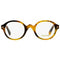 Tom Ford Round Eyeglasses FT5490 056 46 Honey Havana 46mm FT5490