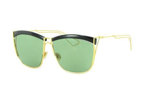 Christian Dior Sunglass MY2DJ 58 Square Style Gold Color | Women sunglass