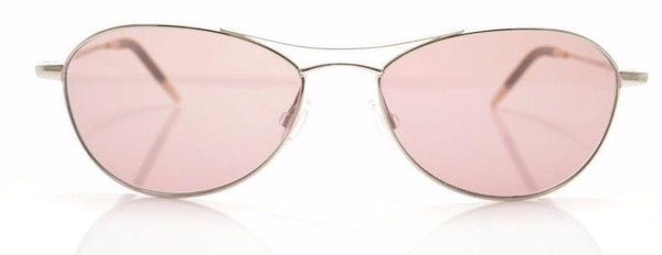 Oliver Peoples Sunglass Aviator Style Silver Color Violet lens | OV1005S 50364R