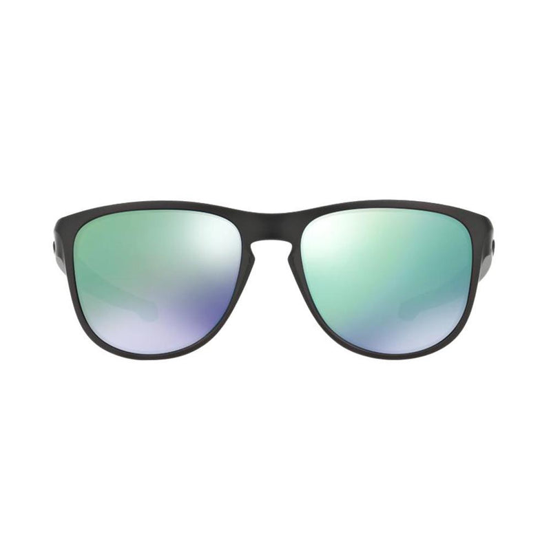 Oakley Sunglass - Square Style Matte Black Frame Unisex Sunglass OO9342-05