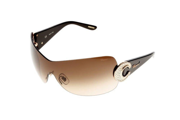 Chopard Sunglasses Shield Style Brown Gradient Lens