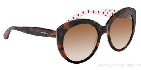 Dolce & Gabbana Sunglasses Cat Eye Style Brown Gradient Lens