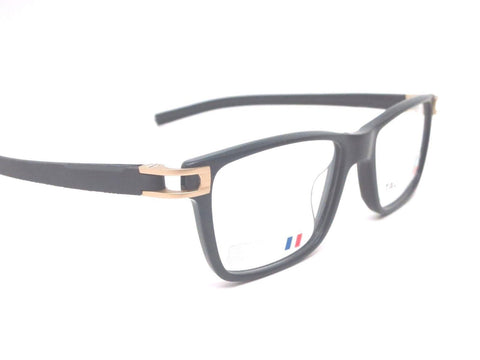 Tag Heuer Eyeglass Square Style Black Frame with Customisable Lens Technology - TH7603 008 50mm