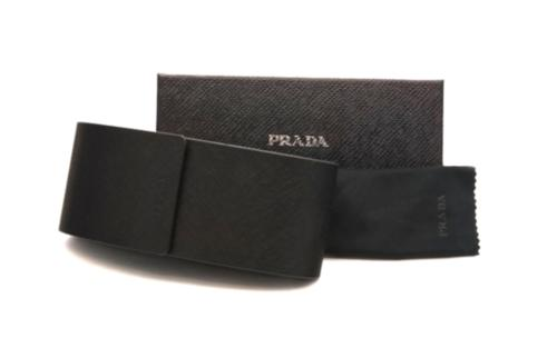 Prada PR24QS DHO4S2 53MM Brown & Clear Havana Sunglasses 53mm w/Case