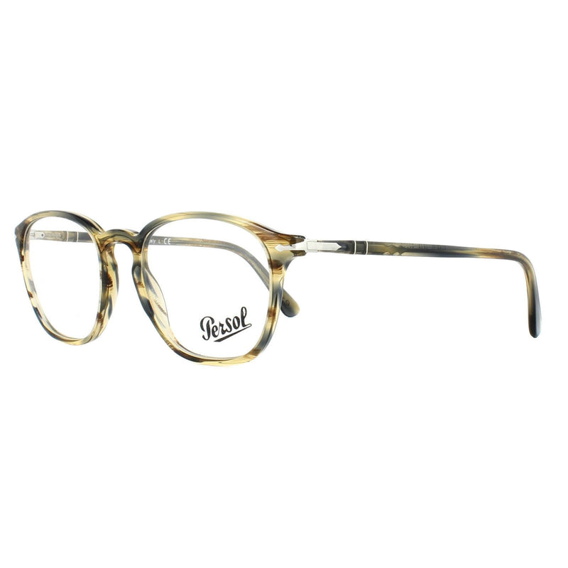 Persol Eyeglass PO3178V 1049 52mm Square Style | Demo Color Lens