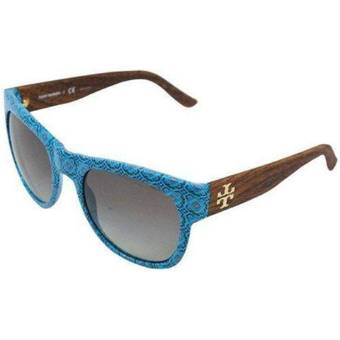 Tory Burch Sunglasses Square Style Grey Gradient Lens