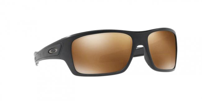 Oakley Turbine Sunglasses Matte Black / Prizm Tungsten Polarized OO9263 4063