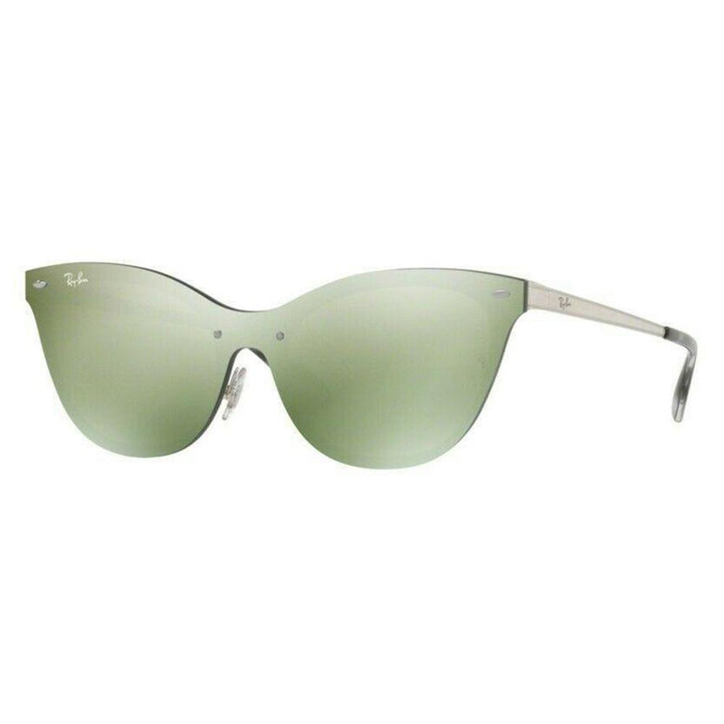 Ray-Ban Sunglass - Blaze Silver Color Cat Eye Style - RB3580N-042/30