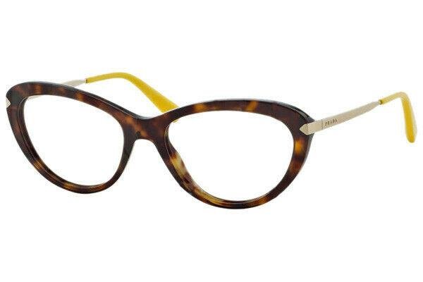Prada Eyeglass - Cat Eye style PR08RV 2AU101 Havana with Demo Lens