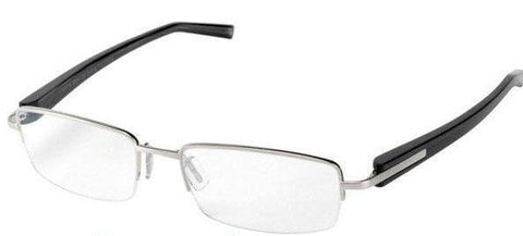 Tag Heuer TH8204 002 54MM Trends Semi-Rimless Eyeglasses - Ruthenium / Black