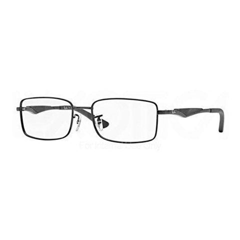 Ray-Ban sunglass rectangular style gunmetal for Men's - RB6284-2503 55mm