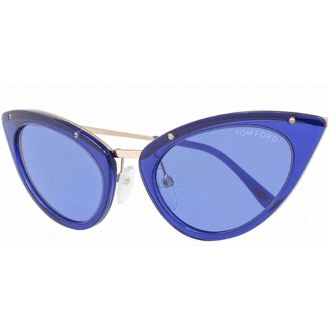 Tom Ford Sunglasses Cat Eye Style Cobalt Blue Lens
