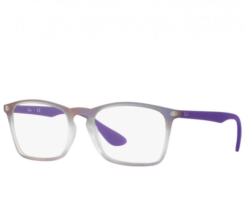 Ray-Ban RB7045-5600 Chris Optics Violet Nylon Square Eyeglasses 8053672558067