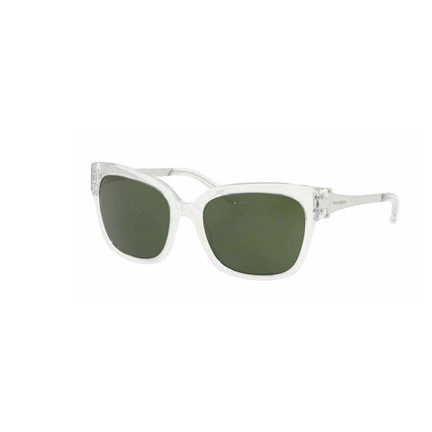 Tory Burch TY 7110 168071 Crystal Silver Green Sunglasses 57mm TY7110 168071