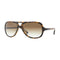 New Ray Ban RB4162 710/51 59MM Sunglasses Brown Tortoise Aviator Sunglasses