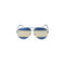 Christan Dior Sunglass Aviator Style Blue Grey Lens - Women Sunglass Navy Blue Frame SPLIT1QAOUE59