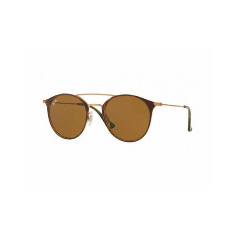 Ray Ban Copper / Havana w Brown Lens Sunglasses RB3546 9074 52