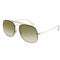 Ray Ban Blaze Thoncee General RB3583N 003/W0 58 Silver Pilot RayBan Sunglasses