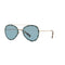 Valentino Sunglasses VA 2013 300380 58 Gold / Azure  Women's Sunglasses