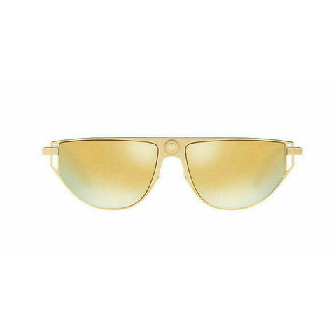 Versace Sunglasses VE2213 10027P 57mm Gold / Brown Mirror Gold Lens