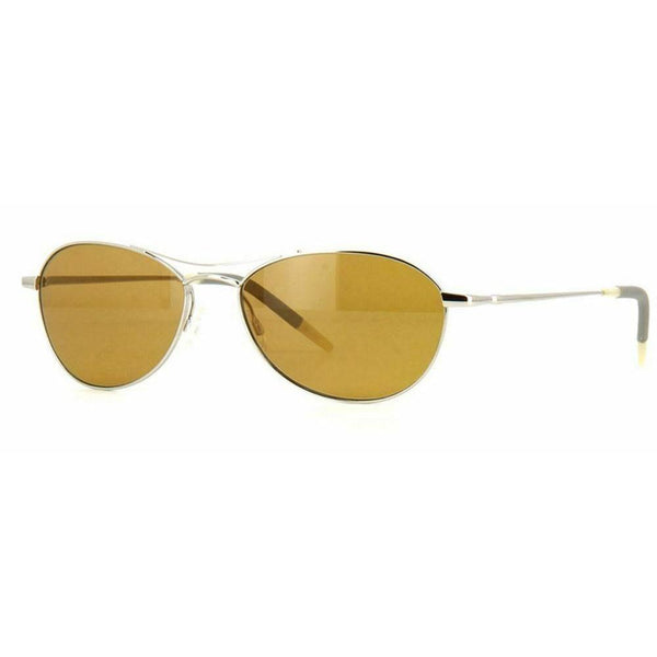 OLIVER PEOPLES Women OV1005S 5036R9 Sunglasses AERO Silver Frame/Champagne Lens