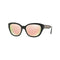 Versace Sunglass Cat Eye Style Light Brown / Pink Lens - Women Sunglass Black Frame VE4343 GB1/2Y 56