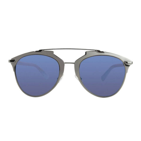 Dior Reflected/S TUY XT Dark Ruthenium Blue Sunglasses Sky Blue Mirror Lens