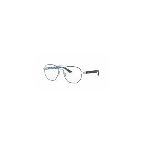 Ray-Ban RB RX8418 3016 51 Blue/Silver Carbon Fiber 51mm Eyeglasses