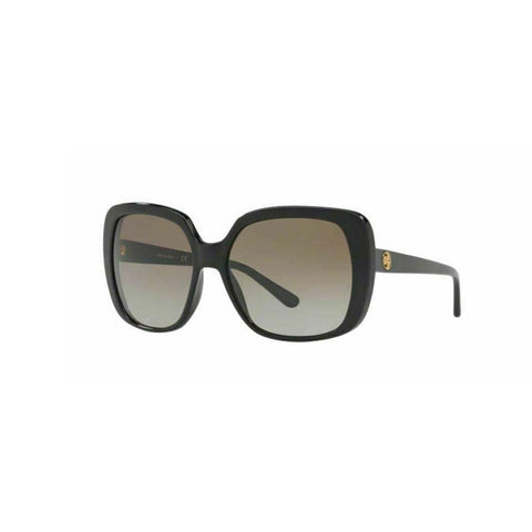 Tory Burch Women's Black Oversized Sunglasses w/ Gradient Lens TY7101 137713 57