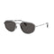 Burberry Sunglasses BE3106 100387 Designer Sunglasses Frames Silver Grey Lens