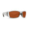 Costa Del Mar Corbina Polarized Sunglasses - Silver/Copper 580P CB 18 OCP