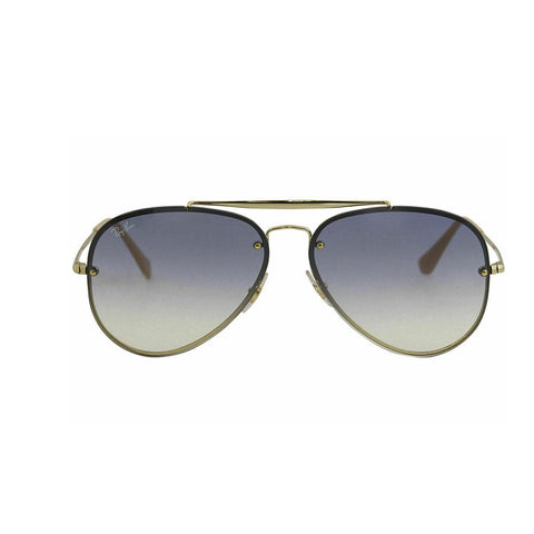 Ray Ban Blaze Aviator RB3584N 3584 001/19 Gold/Blue Grad. RayBan Sunglasses 58mm