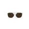 Burberry BE3107 1109/73 Gold/Brown Square Aviator Designer Sunglasses