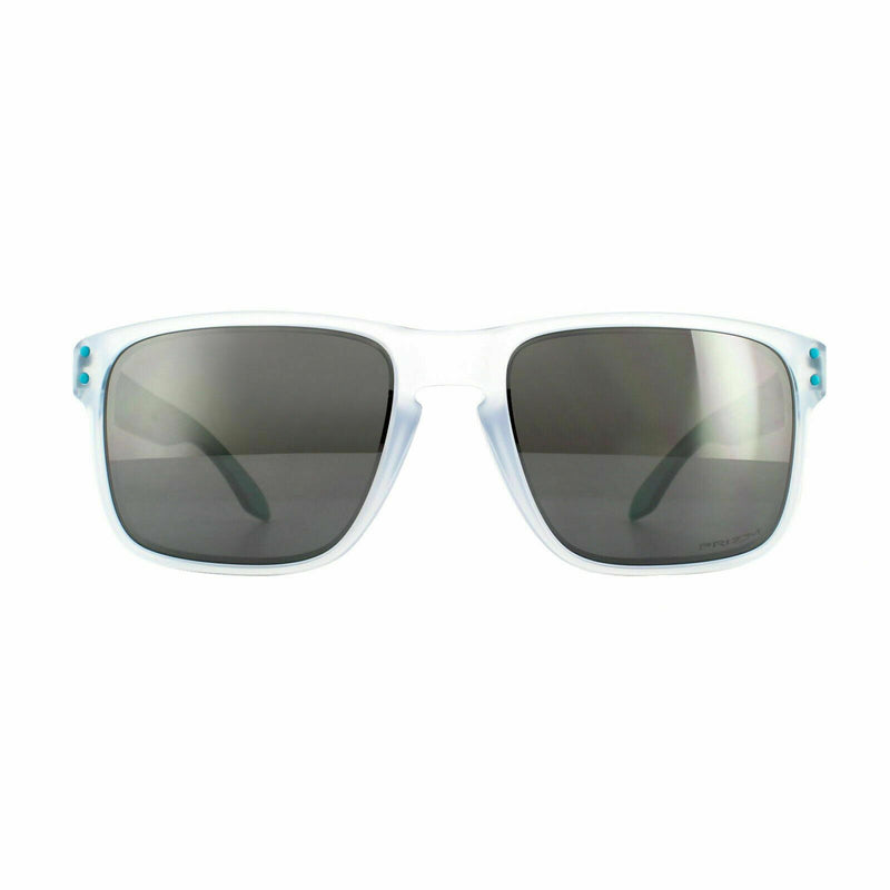 Oakley Sunglass - Square Style Holbrook Model Crystal Clear Color Sunglass OO9102 H655