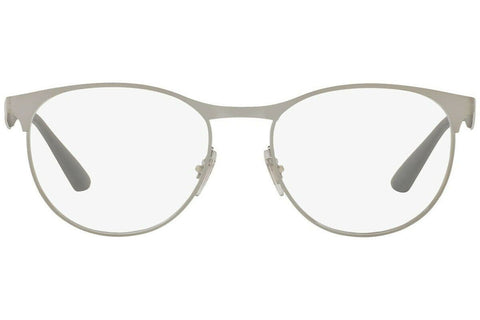 Ray Ban Round Style Silver Eyeglasses W/Demo Lens