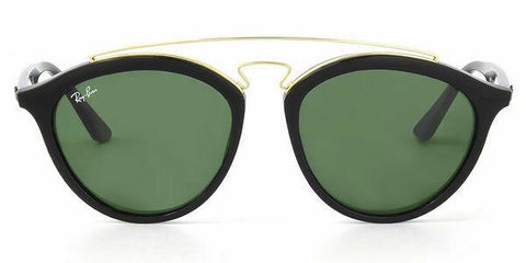 Ray Ban New Sunglasses Gatsby Black Gold Green G-15 RB4257F 601/71 55