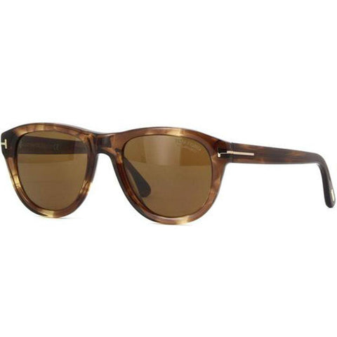 Tom Ford Sunglasses Square Style Brown Polarized Lens
